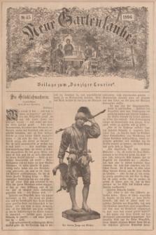 """Neue Gartenlaube : Beilage zum """"Danziger Courier"""". 1896, № 45 ([8 November])"""