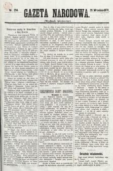 Gazeta Narodowa (wydanie wieczorne). 1870, nr234