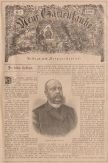 """Neue Gartenlaube : Beilage zum """"Danziger Courier"""". 1899, № 2 ([15 Januar])"""