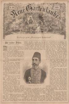 """Neue Gartenlaube : Beilage zum """"Danziger Courier"""". 1899, № 40 ([8 Oktober])"""