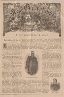 """Neue Gartenlaube : Beilage zum """"Danziger Courier"""". 1900, № 1 ([7 Januar])"""