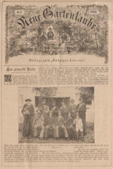 """Neue Gartenlaube : Beilage zum """"Danziger Courier"""". 1900, № 2 ([14 Januar])"""