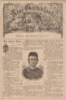 """Neue Gartenlaube : Beilage zum """"Danziger Courier"""". 1900, № 4 ([28 Januar])"""