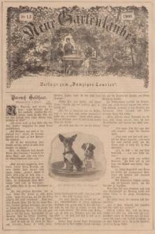 """Neue Gartenlaube : Beilage zum """"Danziger Courier"""". 1900, № 13 ([1 April])"""