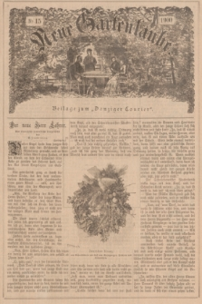 """Neue Gartenlaube : Beilage zum """"Danziger Courier"""". 1900, № 15 ([15 April])"""
