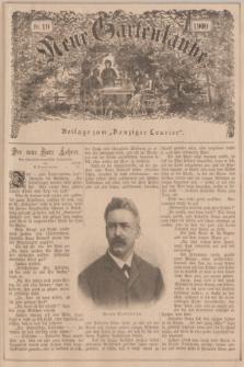 """Neue Gartenlaube : Beilage zum """"Danziger Courier"""". 1900, №. 19 ([13 Mai])"""