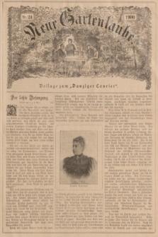 """Neue Gartenlaube : Beilage zum """"Danziger Courier"""". 1900, № 24 ([17 Juni])"""