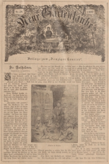 """Neue Gartenlaube : Beilage zum """"Danziger Courier"""". 1900, № 28 ([15 Juli])"""