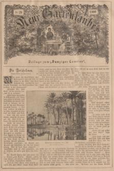 """Neue Gartenlaube : Beilage zum """"Danziger Courier"""". 1900, № 29 ([22 Juli])"""