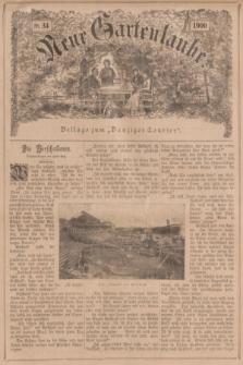 """Neue Gartenlaube : Beilage zum """"Danziger Courier"""". 1900, № 34 ([26 August])"""