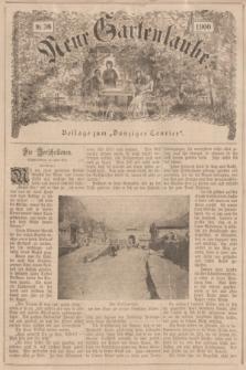"""Neue Gartenlaube : Beilage zum """"Danziger Courier"""". 1900, № 36 ([9 September])"""
