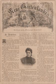"""Neue Gartenlaube : Beilage zum """"Danziger Courier"""". 1900, № 37 ([16 September])"""