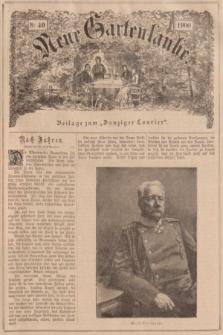 """Neue Gartenlaube : Beilage zum """"Danziger Courier"""". 1900, № 40 ([7 Oktober])"""