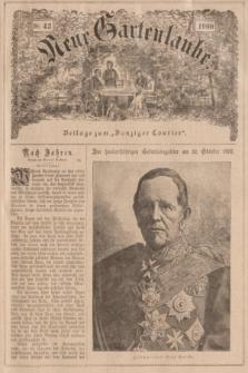 """Neue Gartenlaube : Beilage zum """"Danziger Courier"""". 1900, № 42 ([21 Oktober])"""