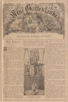 """Neue Gartenlaube : Beilage zum """"Danziger Courier"""". 1900, № 43 ([28 Oktober])"""