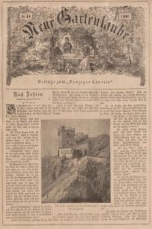 """Neue Gartenlaube : Beilage zum """"Danziger Courier"""". 1900, № 44 ([4 November])"""