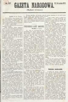 Gazeta Narodowa (wydanie wieczorne). 1870, nr237