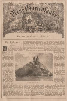 """Neue Gartenlaube : Beilage zum """"Danziger Courier"""". 1901, № 3 ([20 Januar])"""