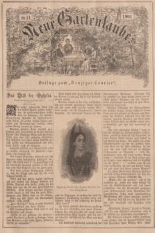"""Neue Gartenlaube : Beilage zum """"Danziger Courier"""". 1901, № 11 ([17 März])"""