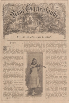 """Neue Gartenlaube : Beilage zum """"Danziger Courier"""". 1901, № 13 ([31 März])"""