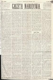 Gazeta Narodowa. 1870, nr238