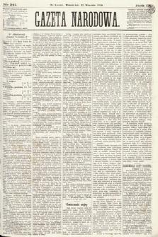 Gazeta Narodowa. 1870, nr241