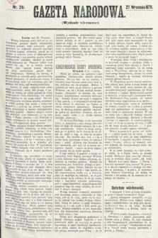 Gazeta Narodowa (wydanie wieczorne). 1870, nr241