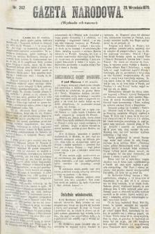 Gazeta Narodowa (wydanie wieczorne). 1870, nr242