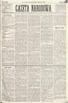 Gazeta Narodowa. 1870, nr243