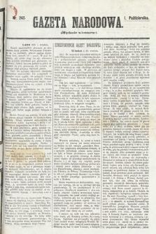 Gazeta Narodowa (wydanie wieczorne). 1870, nr245