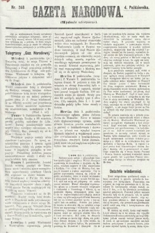 Gazeta Narodowa (wydanie wieczorne). 1870, nr248