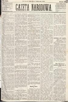 Gazeta Narodowa. 1870, nr249