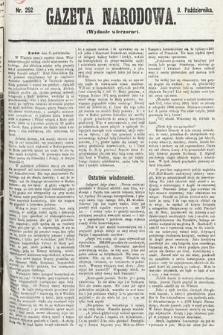 Gazeta Narodowa (wydanie wieczorne). 1870, nr252