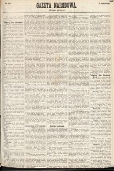 Gazeta Narodowa (wydanie wieczorne). 1870, nr254