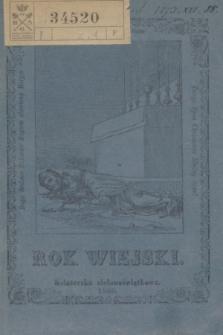 Rok Wiejski : Książeczka zielonoświątkowa. R.1, [z. 1] (1860)