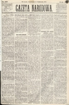 Gazeta Narodowa. 1870, nr257