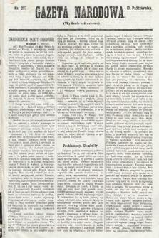 Gazeta Narodowa (wydanie wieczorne). 1870, nr257