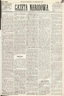 Gazeta Narodowa. 1870, nr258