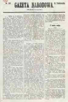 Gazeta Narodowa (wydanie wieczorne). 1870, nr262