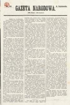 Gazeta Narodowa (wydanie wieczorne). 1870, nr263