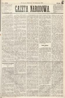 Gazeta Narodowa. 1870, nr272