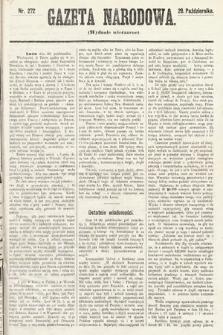 Gazeta Narodowa (wydanie wieczorne). 1870, nr272