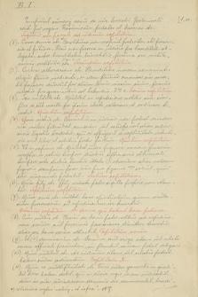 Statuty Kazimierza Wielkiego w języku łacińskim : kopia kodeksu Bandtkiego I (B. I) z 1444 r.
