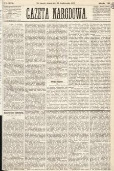Gazeta Narodowa. 1870, nr273