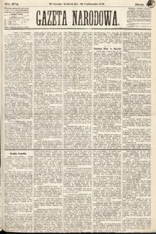 Gazeta Narodowa. 1870, nr274