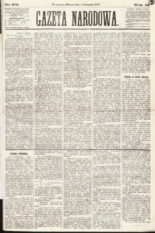 Gazeta Narodowa. 1870, nr276