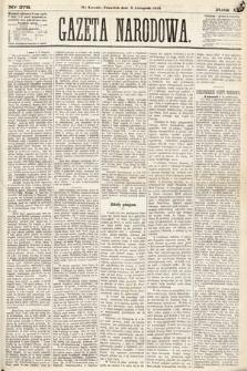 Gazeta Narodowa. 1870, nr278