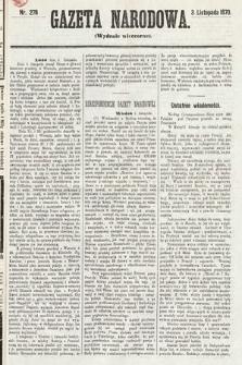 Gazeta Narodowa (wydanie wieczorne). 1870, nr278