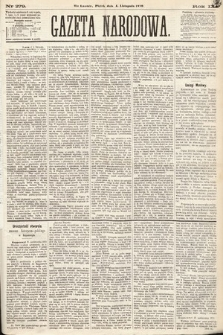 Gazeta Narodowa. 1870, nr279