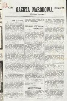 Gazeta Narodowa (wydanie wieczorne). 1870, nr280